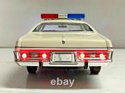 1/18 DODGE CORONET DUKES OF HAZZARD COUNTY SHERIFF Working POLICE Lights Ut