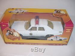 1/18 Dukes Of Hazzard Car Set NIB! Rosco Patrol Car, Cooter Mustang & Camaro