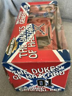 1/18 ERTL General Lee Dodge Charger. The Dukes Of Hazzard. Muddy Look Version