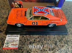1/18 Joy Ride Dukes Of Hazzard General Lee 1969 Charger 7 Signatures