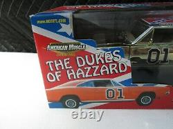 1/18 The General Lee, Authentic George Barris American Muscle Diecast Gold