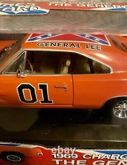 1/18 The General Lee, Authentic George Barris American Muscle Diecast Htf Nib