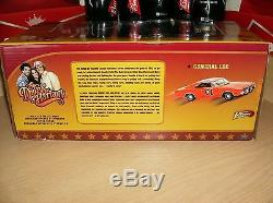 1 18 diecast 1969 Dodge Charger General Lee Dukes of Hazzard White Chase NIB