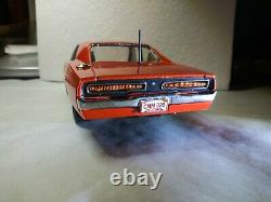 1/24 Scale ERTL Diecast General Lee Dukes Of Hazzard 1969 Dodge Charger Custom