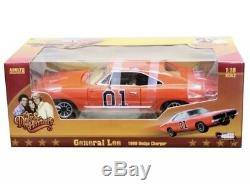 118 1969 Dodge Charger Dukes Of Hazzard General Lee Amm964 Autoworld Diecast
