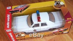 118 Autoworld Dukes of Hazzard Roscoe's Dodge Monico Police Car LE Sealed