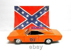 118 Custom Dukes of Hazzard General Lee Diecast 1969 Dodge Charger Hood Opens