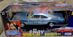 118 DIECAST JOYRIDE RC2 GENERAL LEE CHASE CAR THE DUKES of HAZZARD COUNTY