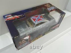 118 Dukes Of Hazzard General Lee Rare Chrome Diecast Movie Car