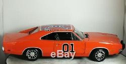 118 ERTL American Muscle DODGE CHARGER R/T Dukes of Hazzard GENERAL LEE Rare