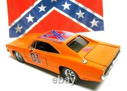 125 Custom Dukes of Hazzard General Lee Diecast 1969 Dodge Charger Hood Opens