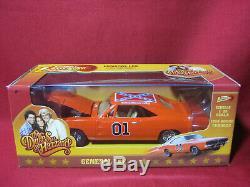 125 Dukes of Hazzard General Lee 1969 Dodge Charger Johnny Lightning Car Hazard