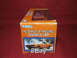 125 Ertl 2000 Dukes of Hazzard General Lee 1969 Dodge Charger Car Hazard