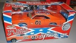 1969 Charger General Lee Dukes Of Hazzard American Muscle Body Shop 1/18 New