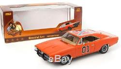 1969 DODGE CHARGER from DUKES OF HAZZARD'GENERAL LEE' 118 Scale AUTOWORLD