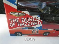1969 Dodge Charger Black Chase General Lee 1/18 New