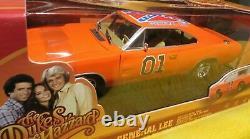 1969 Dodge Charger General Lee Dukes of Hazzard Flag Johnny Lightning 1/18 ERTL