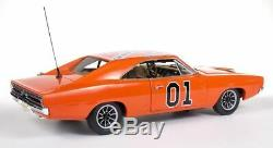 1969 Dodge Charger General Lee The Dukes Of Hazard Movie Car 1/18 Diecast Car