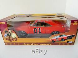1969 Dodge Charger RT Dukes of Hazzard General Lee 1/18 AutoWorld Diecast Model