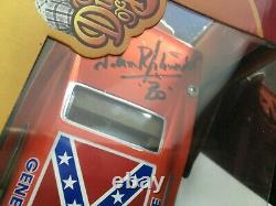 1969 General Lee Dukes of Hazzard Flag JOYRIDE 1/18 Signed BO John Schneider