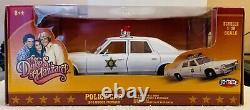 1974 Dodge Monaco, Dukes of Hazzard Patrol Car, Ertl Joyride, 1/18, NIB, #39406