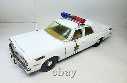 1974 Dodge Monaco Rosco Patrol Car Dukes Of Hazzard 118 Diecast Metal Car Rare