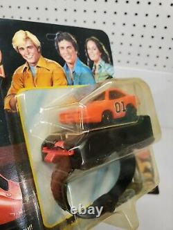 1980 Dukes of Hazzard General Lee & Police Cruiser Wrist Racers NEW Unpunched
