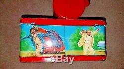 1980 The Dukes Of Hazzard Lunch Box KitSIGNEDTom Wopat withThermos, toys & more