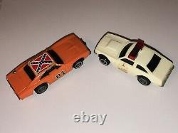 1981 Ideal The Dukes of Hazard Electric Slot Car Racing setVintage