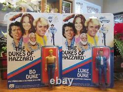 1981 Mego Dukes of Hazzard 3 3/4 Poseable Figures BO LUKE BOSS HOGG VINTAGE