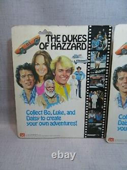 1981 Mego Dukes of Hazzard 8 Poseable Figures BO-LUKE-DAISY-BOSS HOGG Carded