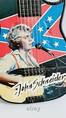 1981 Vintage Dukes of Hazzard Acoustic Toy Guitar John Schneider Collectible