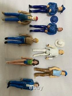 1981 Vintage Mego The Dukes Of Hazzard 3.75 Action Figure Set