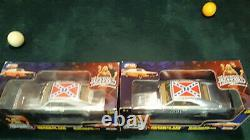 2 General Lee 1969 Dodge Chargers 118 1 Chrome 1 Flat steel