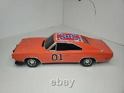 2005 Dodge Charger 1969 Dukes of Hazard General Lee RC Car AS IS No Remote 110