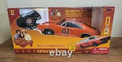 2005 Dodge Charger 1969 Dukes of Hazard General Lee RC Car NEW OLD STOCK 118