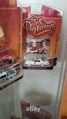 53 Johnny Lightning Dukes Of Hazzard Collection With RARE White Lightnings. LK