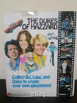 AF 1981 Mego THE DUKES OF HAZZARD 8 Set of 4 (Luke, Bo, Daisy, Boss Hogg) vintage