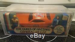 AFA 80 1981 Mego Dukes of Hazzard General Lee car Luke & Bo SEALED MIB MISB