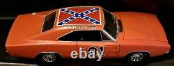 AMERICAN MUSCLE 1969 DODGE CHARGER 1/18 GENERAL LEE, 1st Edition Florida Plates