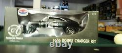 American Muscle Rc2 118 1969 Dodge Charger Black Chase General Lee