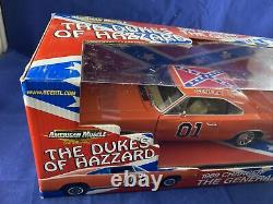 American Muscle The Dukes Of Hazzard General Lee 1969 Charger Ertl 118 Diecast