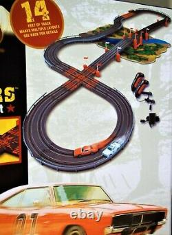 Auto World Aw New Ho The Dukes Of Hazzard Curvehuggers Slot Car Racing Set Afx