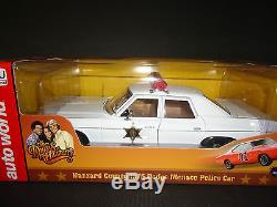 Auto World Dodge Monaco Police 1975 Dukes of Hazzard 1/18 Limited Edition