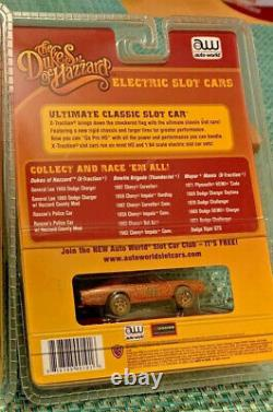 Auto World Dukes Of Hazzard General Lee Dodge Charger Slot Car New In Package