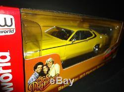 Auto World Plymouth Satellite 1971 Daisy Duke 1/18 Dukes of Hazzard