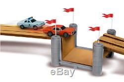 AutoWorld Dukes of Hazzard General Lee HO Slot Car Race Set Aw for Afx LifeLIke