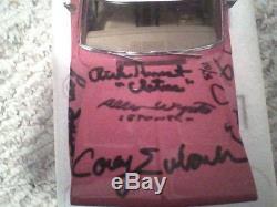 Autograph Danbury Mint Dukes of Hazzard 1969 Dodge Charger General Lee replica