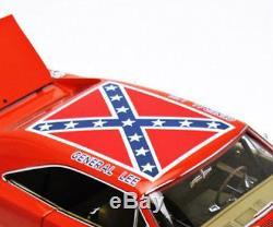 Autoworld 1969 Dodge Charger Dukes Of Hazzard General Lee Amm964 Orange 1/18