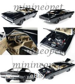 Autoworld Awss110 Happy Birthday General Lee 1969 69 Dodge Charger 1/18 Black